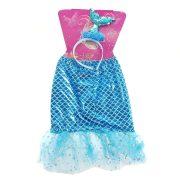 Sellő ruha kék - rózsaszín