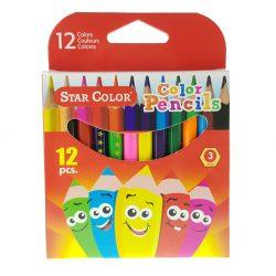 Színes ceruza 12db B3912