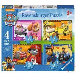 Ravensburger: Mancs őrjárat 4 az 1-ben puzzle