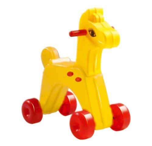 Műanyag Kerekes ló