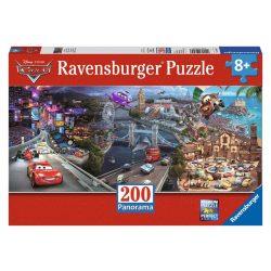 Ravensburger Pixar Disney Verdák - panoráma puzzle, kirakó, 200 db