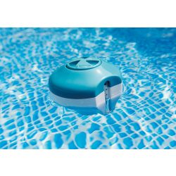 INTEX 2in1 úszó MINI vegyszer adagoló és hőmérő medencéhez