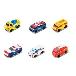 Flip Cars: Átalakuló kisautó többféle változatban 1db