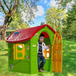 Kerti műanyag játékház + választható ajándék