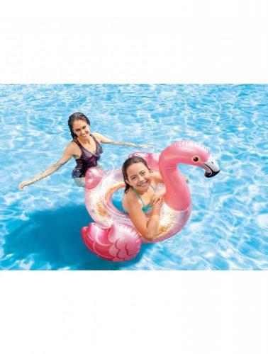 Intex Csillámos Flamingó úszógumi