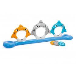Cápás frizbi dobáló