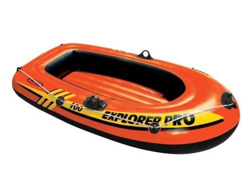INTEX Explorer Pro 100 felfújható gumicsónak (1 személyes) 160 x 94 x 29cm