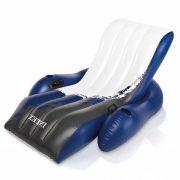 Fehér kék fotel 180cm