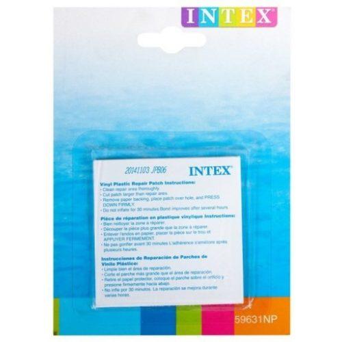 INTEX Javító szett, öntapadós folt