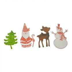 Karácsonyi habmatrica 4 féle 60/Csomag