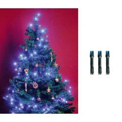 LED-es beltéri fényfűzér, kék, 50 LED KII 50/BL
