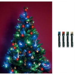 LED-es beltéri fényfűzér, színes, 200 LED KII 200/M