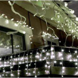 LED-es jégcsap fényfüggöny KKF 308/WH