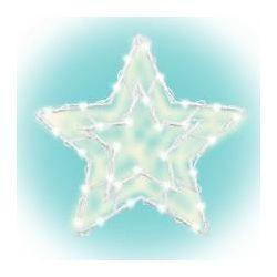 Csillag ablakdísz KID 503 B/WW