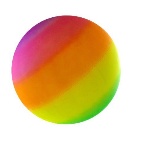Óriás szivárványlabda