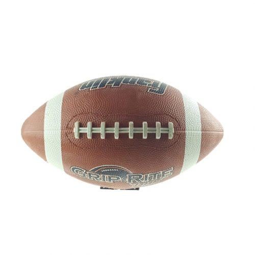 Amerikai focilabda barna fűzősmintás