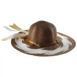 szalagos női kalap