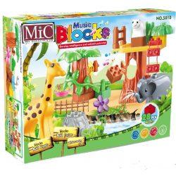 Block Építő Kocka 28 Db-Os