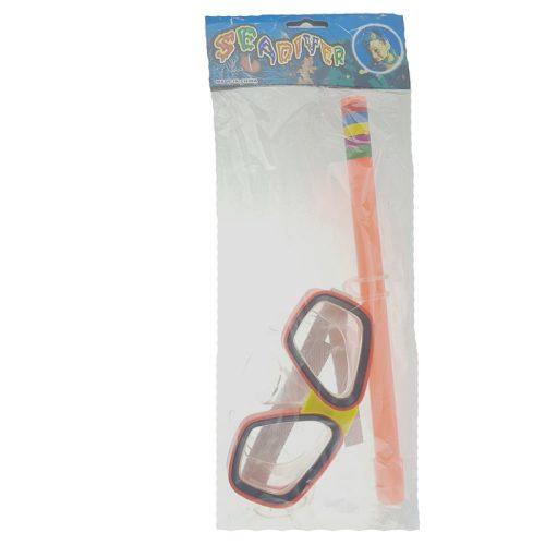 Búvár pipa szemüveggel