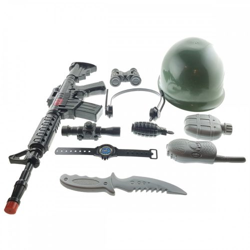 Katonai Sisak Fegyverrel