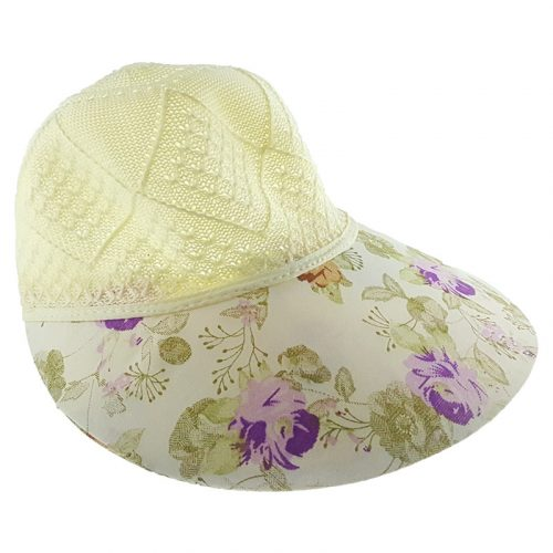 Virágos Siltes női kalap