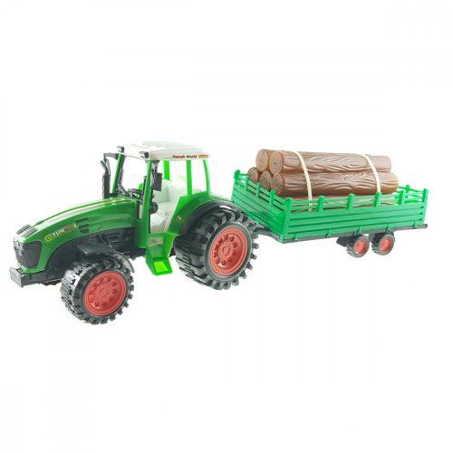 Traktor Pótkocsival