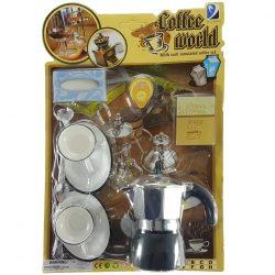 Kávés készlet kávéfőzővel