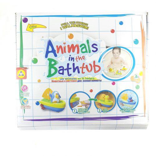 Fürdős játék állatos