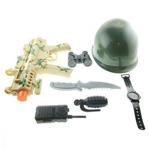 Komplett katonai játék szett