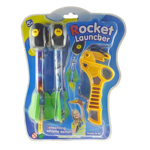 Sípoló rakétakilövő játék 5 éves kortól