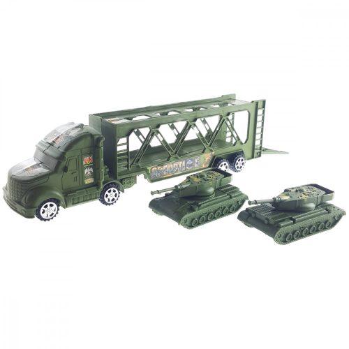 Tankot Szállító Katonai Kamion