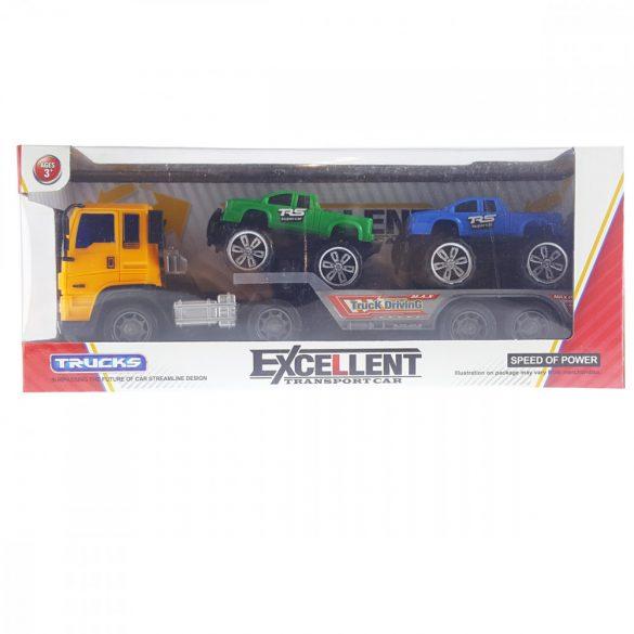 Kamion Trailer 2 Db Autóval