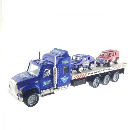 Terepjárót Szállító Kamion
