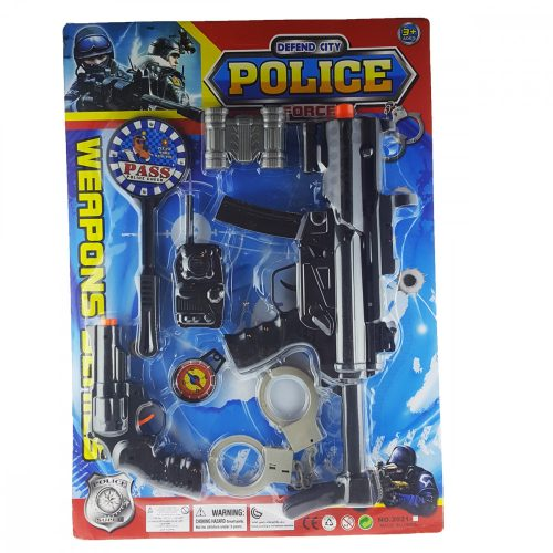Police Szett Bilincsel