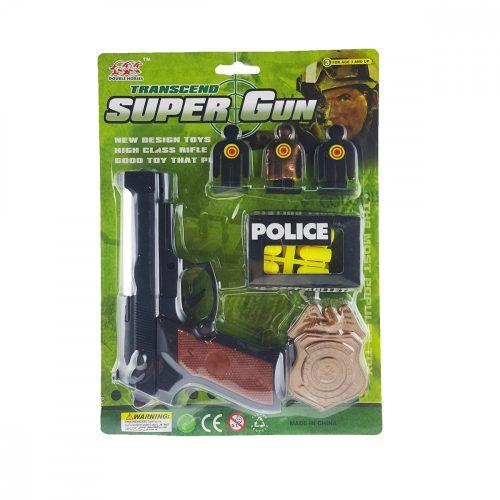 Játékfegyver Műanyag Lövedékkel