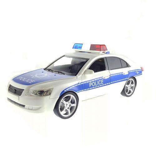 Fehér rendőrautó