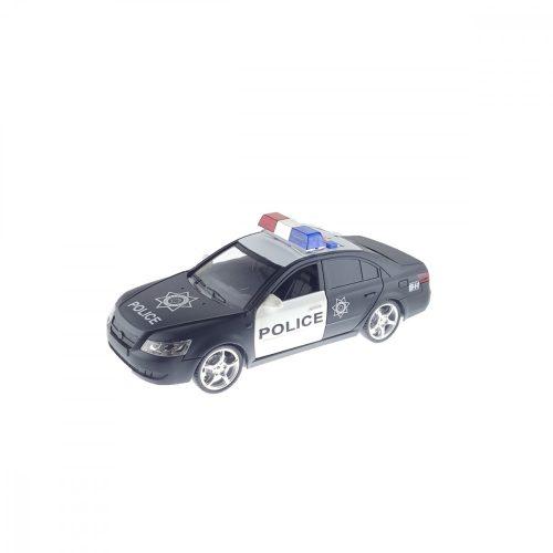 Fekete rendőrautó