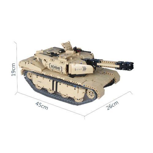 Távitányítós Tank Építő Készlet