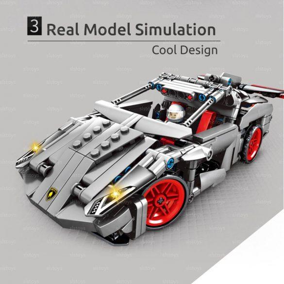 Sembo Block Sportautó Építő Készlet