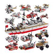 Jármű Csatahajó Építőjáték