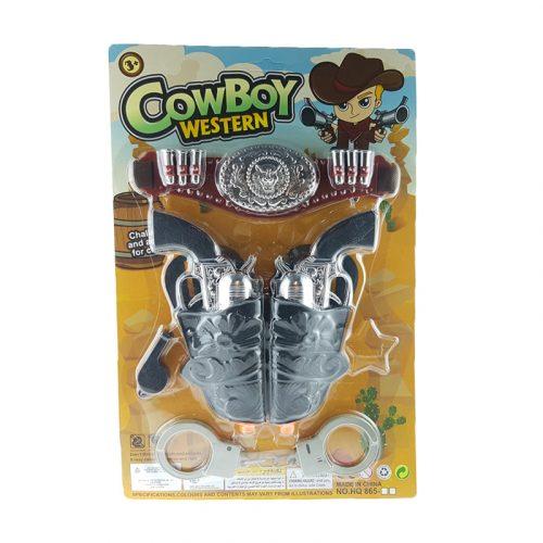 Cowboy szett lapon