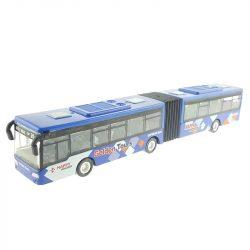 Csuklós busz tálcában