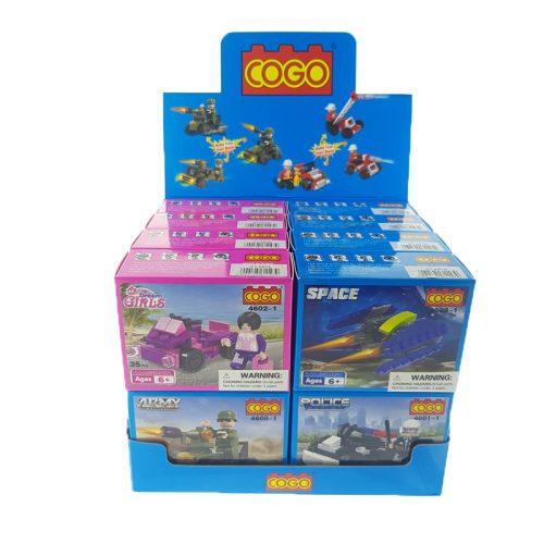 Cogo  8 -féle széria Építőjáték