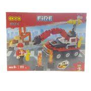 Tűzoltó Járműflotta Építőkészlet