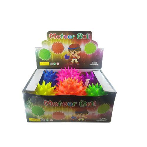 Meteor világítós puffer labda