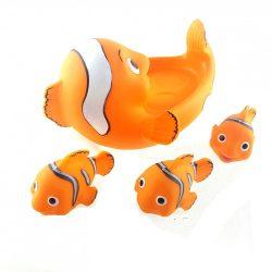 Fürdős játék bohóc halak, 4 darabos
