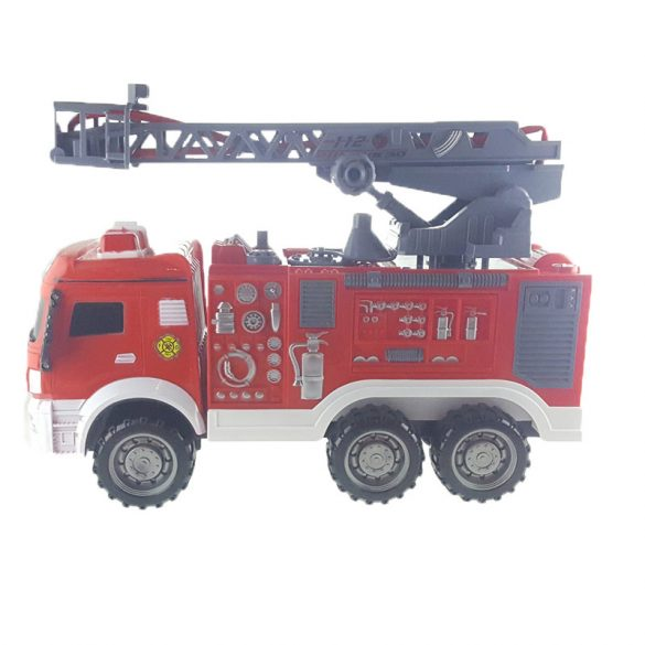 Tűzoltóautó zacskóban