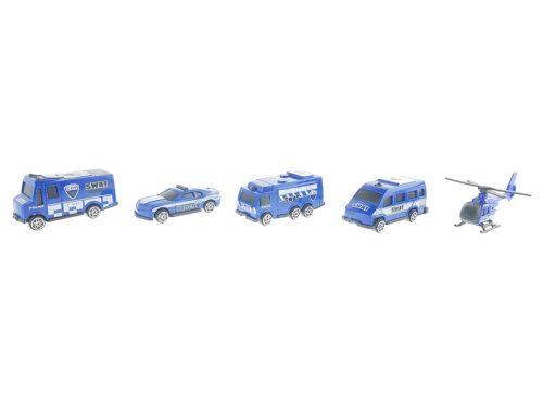 Rendőrségi járművek dobozban