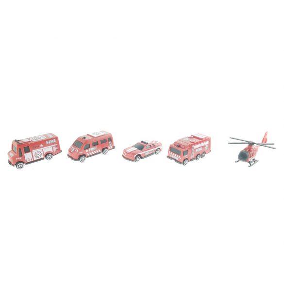 Tűzoltó járművek dobozban