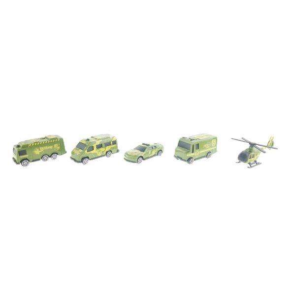Katonai járművek dobozban